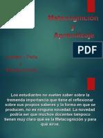 Multipoint y La Metacognición en El Aprendizaje.