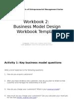 Business Model Process WorkbookTemplate