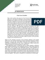 LUCA GARDINI, G. Who Invented Mercosur- Diplomacy & Statecraft