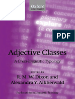 The Russian Adjetive.... Adjective_Classes_ACrossLinguisticTypology-2004-GC