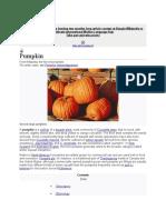 Pumpkin Takoshi