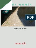 CHITTACHOR CHATKOR Bhashantarit Kavita _ Translated poems in Marathi