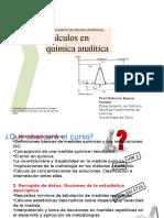Cálculos en Química Analíticaa