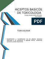 Toxicologia Clase 1