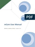 Guia do Usuário MCOM
