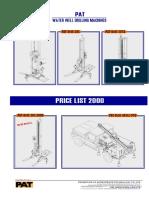 PAT Drilling Rig  List (PAT)