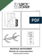 MODULE DEVICENET Guide de Mise en Service