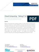 Cloud Computing - Taking IT to Task