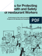 Protecting the Health and Safety of Restaurant Workers