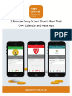 9 Reasons Every School Should Have Their Own Calendar & News App - Apps Central