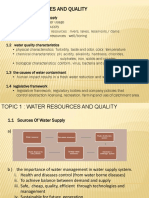 Dcc5152 Topic 1 Water Resources and Quality