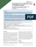P. vivax Malaria and Dengue Fever Co-infection