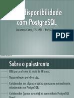 altadisponibilidadepostgresql-130704104231-phpapp01