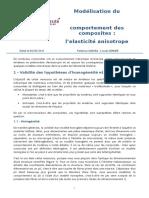 6689 Modelisation Du Comportement Des Composites1 3 Lelasticite Anisotrope Ens