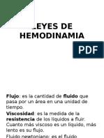 1. LEYES DE HEMODINAMIA