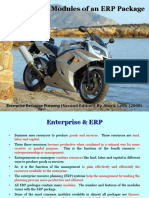 Business Modules of ERP