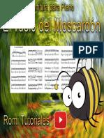 Partitura para piano el vuelo del moscardón.pdf