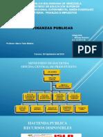 Dispositivas de Expocision Finanzas e Impuestos..