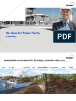 Power Plant Services Overview 09 2014