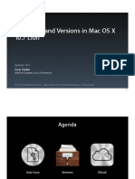 WWDC 2011 - Session 107 Auto Save and Versions in Mac OS X 10.7 Lion