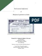 The Economic Implications of Marijuana Legalization in Alaska
