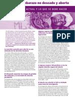 VIH/SIDA, embarazo no deseado y aborto