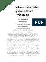 Negociaciones Comerciales Abogado en Caracas Venezuela