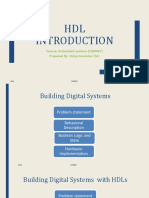 HDL Introduction