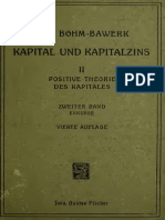Boehm Bawerk Positive Theorie Des Capitals