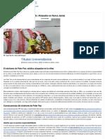 El Síndrome de Peter Pan y El Síndrome de Wendy