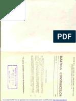 Buletinul Constructiilor Vol 2-1985