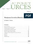 Marijuana Growth in British Columbia