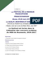 Francochanson 2017- Franceza -2