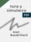 cultura y simulacro - baudrillard.pdf