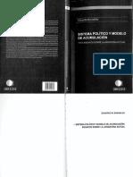 Basualdo E -2011- Sistema Politico y Modelo de Acunulacion