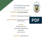 Informe de Metodologia Investigacion
