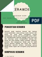 Presentation Tekban Keramik