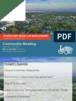 Downtown Lakewood Redevelopment Feb 15th Presentation