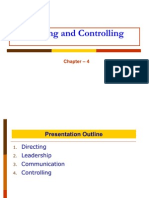 Chapter 4_Directing and Controlling