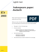 9999064531-2003 Ks3 Shakespeare 2 Macbeth