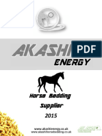 Akashi Energy Brochure Horse Bedding 2015compressed