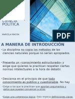 Enfoques de La Ciencia Política Introduccion