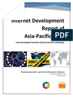 Internet Development Report of Asia-Pacific 2016- Least Developed Countries (LDCs) and Their Challenges by Shreedeep Rayamajhi