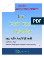 Topic 4 Islamic Financing Instrument PART 1