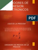 Medidores de Presion Electronicos