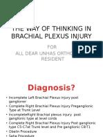 The Way of Thinking in Brachial Plexus Injury