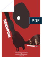 Deadpool Poster Recreate