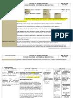 Ejemplo de Planificación Unidad Didactica para 10° de EGB Ecuador