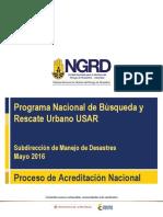 Proceso de Acreditaci n Nacional USAR