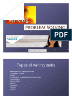 CAE Writing Problem Solving